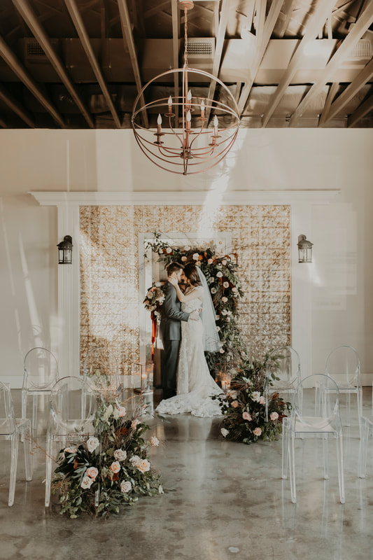 A beautiful venue for your wedding at 8th and Main.